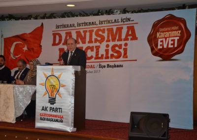 Ak Parti MKYK Üyesi-İstanbul Milletvekili Burhan Kuzu