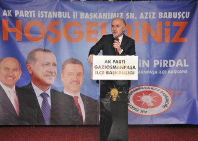 Ak Parti İst. İl Başkanı Aziz Babuşcçu