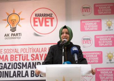 Aile ve Sosyal Politikalar Bakanı Fatma Betül Saylan