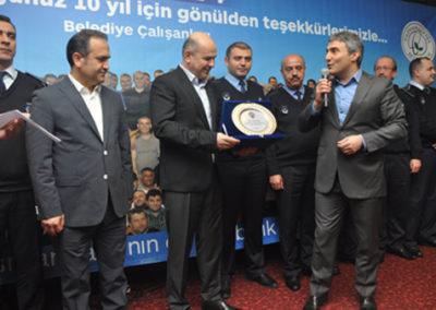 G.O.P. Eski Belediye Başkanı Dr.Erhan Erol'a Veda Yemeği