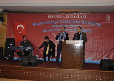 G.O.P Trabzonlular Derneğinin Eğlence Programı