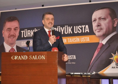G.O.P Bel. Başkanı Hasan Tahsin Usta