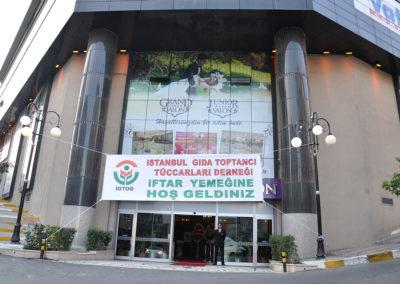 İstanbul Gıda Toptancı Tüccarları Derneği İftar Yemeği