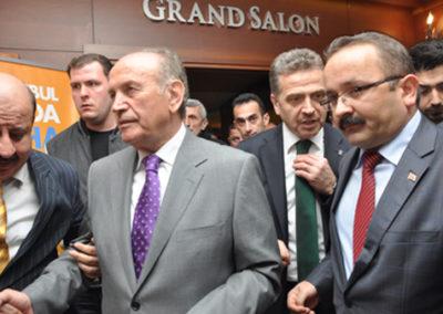 İstanbul Büyükşehir Bel. Başkanı Kadir Topbaş Yemeği